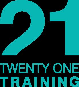 21 Training logo (Teal)